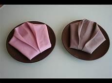 Servietten Falten Napkin Folding