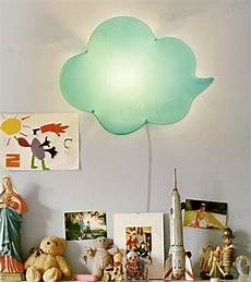 light green cloud lovely creative acrylic led wall l for kids bedroom baby room l