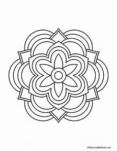 mandala coloring pages beginner 17872 easy mandala coloring pages that you ll actually want to color