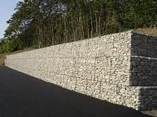 Gabion Retaining Wall Mur De Sout 232 Nement Gabion Jardin