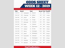 nfl week 1 odds vegas