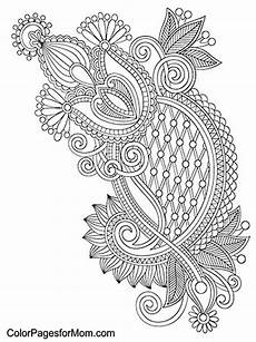 paisley coloring page 15