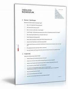 businessplan checkliste zum