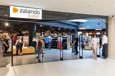 Entrance To A Zalando Outlet Stock Photos Fotos