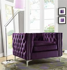 Purple Living Room Chair