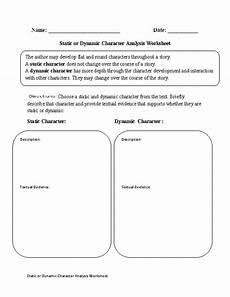 englishlinx com character analysis worksheets