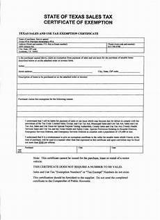 texas sales tax exemption form sale for texas sales tax exemption form manufacturing texas