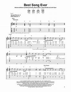 best song ever sheet music by one direction easy guitar tab 158330