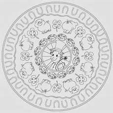 Ausmalbilder Silvester Mandala Silvestermandala Mandalas Kinder Bilder Zum Ausmalen