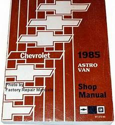 service and repair manuals 2003 chevrolet astro parental controls 1985 chevy astro van factory service manual original shop repair factory repair manuals