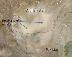 what causes sandstorms