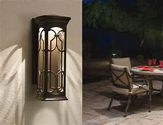 kichler 49227ozled led outdoor wall wall porch lights amazon com