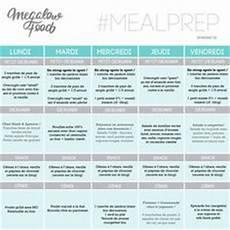 7 Meilleures Images Du Tableau Meal Plan Meal Prep