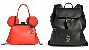 Coach And Disney Collaborate On A Bag Clothing