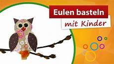 Bastelideen Mit Kindern - eulen basteln mit kindern trendmarkt24 bastelideen mit