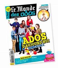 Le Monde Des Ados Le Bimensuel D Actu Qui Accompagne Les