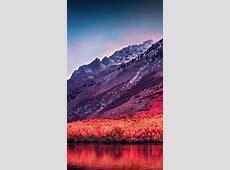 Wallpaper Sierra Nevada, Mountains, macOS High Sierra