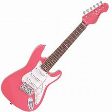 encore e375pk 3 4 electric guitar pink from rimmers