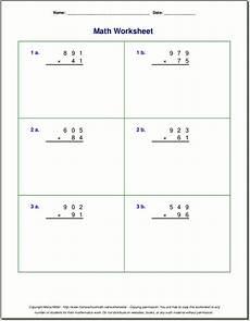 new 3 digit by 2 digit multiplication worksheets pdf fun worksheet