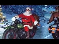 weihnachtsmann auf motorrad gif merry to my biker friends