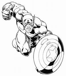 Bilder Zum Ausmalen Captain America Captain America Ausmalbilder Bilder Zum Ausmalen