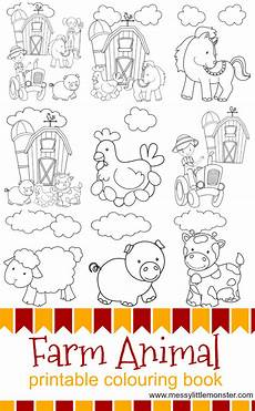 farm animal coloring sheets free printable 17341 farm animal printable colouring pages