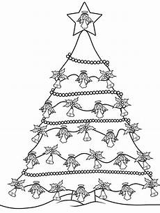 kostenlose malvorlage weihnachtsb 228 ume weihnachtsbaum zum
