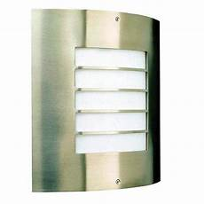 massive 01726 01 47 oslo stainless steel outdoor grille wall light birco philips