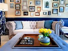 design behind the living room sofa hgtv
