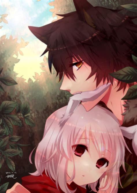 Anime Wolf Boy