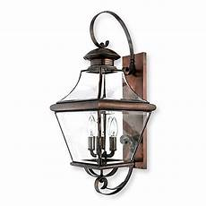 quoizel carleton 4 light wall mounted outdoor fixture in