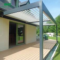 Retractable Balcony Roof Terrace Cover System Sun Shade