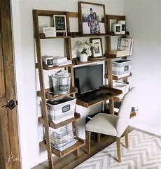 leaning wall ladder desk white bloglovin