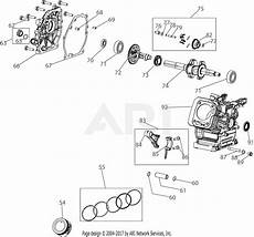 Mtd 165 Wu 179cc Engine Parts Diagram For 165 Wu Crankcase