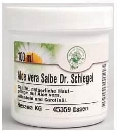 resana salbe aloe vera dr schlegel 100 ml bei apo rot