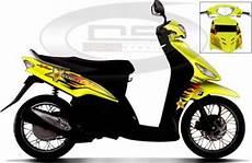 Striping Mio Sporty Keren by Modifikasi Cutting Sticker Motor Mio Paling Keren Terbaru