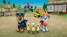 paw patrol en français wag your tails and get to work paw patrol on a roll is