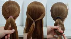 everyday office hairstyles three 3 minute easy hairstyles 2019 hair trends youtube