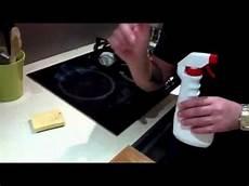 nettoyage de plaque de cuisson