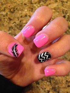 girly diy acrylic nail designs