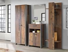 kleiderschrank braun garderobenschrank cedric 80 vintage braun 67x202x42 cm