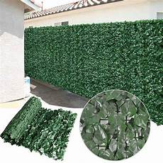 artificial hedge privacy fence screen panel indoor