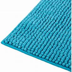 tapis de bain 50x80cm bleu turquoise pico 50x80 cm