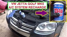 automobile air conditioning service 2001 volkswagen gti auto manual how to recharge the air conditioner on vw jetta mk5 vw golf mk5 youtube