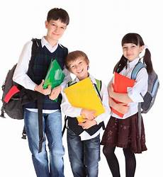happy kids going to school royalty free image 13761795