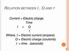 i q t electric current
