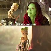 Baby Groot and ...