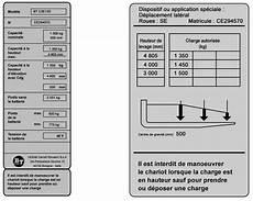 calcul plaque de charge chariot elevateur comment lire une plaque de charge chariot elevateur