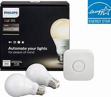 philips hue a19 60w equivalent wireless starter kit white