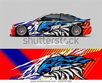 Find Car Wrap Decal Graphics Lion Head Stock Images In HD